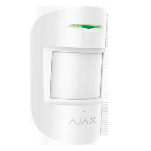 AJAX Rumføler PIR+GLAS COMBIPROTECT-W